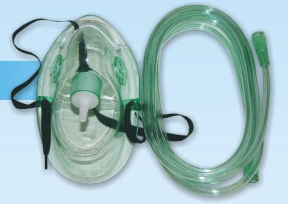 Кислородная маска для дыхания в домашних условиях